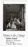 RODRIGUEZ DE SILVA Y VELASQUEZ PEINTRE ESPAGNOL DU XVIIe SIECLE 1599-1660 DAME D'ATOUR - Histoire