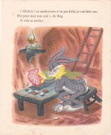 Dessin De BD Véritable De 1950 @ BUG Vide Sa Tirelire Cochon Par Warner Bros Cartoons @  Lapin, Edition Cocorico - Livres, BD, Revues