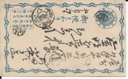 JAPAN - CARTE ENTIER POSTAL - Postcards
