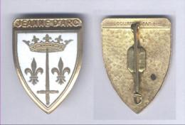 Insigne Du Croiseur Jeanne D'Arc - Marine