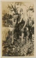 Real Photo Indian Indien Carte Photo - Amérique