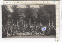 PO0750D# INAUGURAZIONE GAGLIARDETTO 1923 - MEDAGLIE AL VALORE RICORDO CADUTI IN GUERRA  No VG - Inaugurazioni