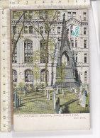PO0764D# NEW YORK - INDIPENDENCE MONUMENT - TRINITY CHURCH YARD  No VG - Églises