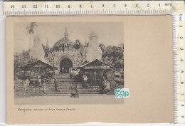 PO0774D# MYANMAR - BURMA - BIRMANIA - RANGOON - SHWE DAGONE PAGODA   No VG - Myanmar (Burma)