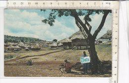 PO0847D# TANZANIA - TANGANICA - TANGANYKA - AFRICAN VILLAGE  VG 1965 - Tanzania