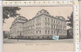 PO0856D# GERMANIA - GERMANY - WURZBURG - NUES COLLEGIENHAUS - COLLEGIO  No VG - Wuerzburg