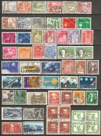 55 Timbres De Suisse - Suisse