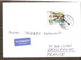 HONGRIE  -  2011    Belle Lettre De Monor Pour Epinal  ( Vosges ) - Hongrie