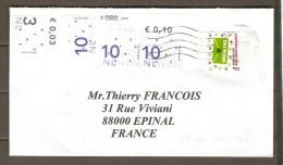 PAYS  BAS   -   2011   Belle  Lettre  Pour  Epinal  ( Vosges ). - Periode 1980-... (Beatrix)