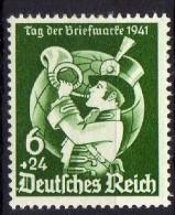 Deutsches Reich, 1941, Mi 762 *, Tag Der Briefmarke [070315VI] - Neufs