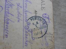 WWI Grande Guerre - FELDPOST - VERDUN  -  K.B. V. Division   1914  D127529 - Militaria