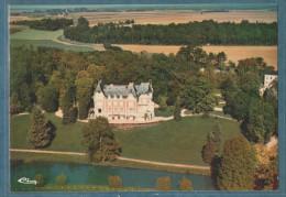 60 - BETZ - Vue Aérienne - Le Château - Non écrite - 2 Scans - 10.5 X 15 - CIM COMBIER - Frankrijk