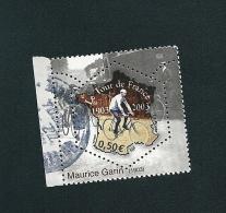 N° 3582 Le Coureur Maurice Garin  Vainqueur Du Tour De 1903   Oblitéré 2003 - France