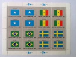 UNITED NATIONS NEW-YORK - FLAG SERIES DRAPEAUX DES ETATS MEMBRES DE L´ORGANISATION DES NATIONS - New-York - Siège De L'ONU