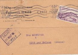 62 - Fers, Quincaillerie, Etablissements Renard à Lens (nr 759) - Covers & Documents