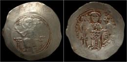 Nicephorus III Botaniates Electrum Histamenon Nomisma. - Byzantine