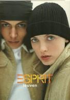 PUBLICITE MODE FEMME  ESPRIT LEUVEN  EDIT. BOOMERANG BELGIQUE 1998 - Reclame