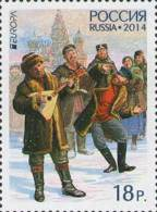Russland Russia 2014 MNH ** Mi Nr. 2041 Europe Stamp 2014 - Unused Stamps