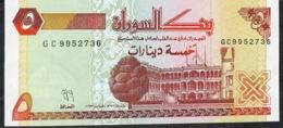 SUDAN   P51a   5   DINARS   1993    UNC. - Sudan