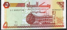 SUDAN   P51a  5  DINARS  1993 #GC     UNC. - Soedan