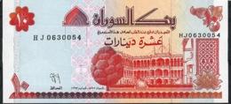 SUDAN   P52  10   DINARS 1993  #HJ   UNC. - Soedan
