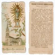 Vion, Image Pieuse Nôtre-Dame Du Chêne, Prière à Marie Immaculée, éd. H. Bonamy N° 1099 - Images Religieuses