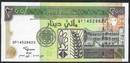 SUDAN   P57b   200   DINARS    1998 Serial # 8 Digit.     UNC. - Soudan