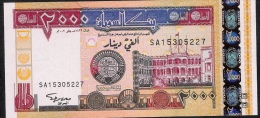 SUDAN   PP62  2000  DINARS    2002     UNC. - Soudan