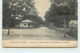 DUALA - King Street, Avenue Du Roi Georges V. - Cameroon
