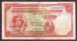 * URUGUAY: 1 Peso (1935) - Uruguay