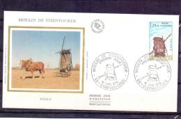 France - Moulin De Steenvoorde -  Premier Jour - Steenvoorde 12/5/79  (RM7684) - Moulins
