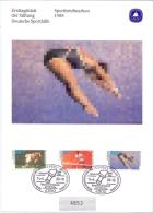 Deutsche Bundespost - Ersttagsblatt Der Stiftung Deutsche Sporthilfe - Essen 14/4/88 (RM7802) - Zomer 1988: Seoel