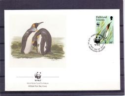 Falkland Islands - FDC - Port Stanley 26/8/1991  (RM7954) - Pingouins & Manchots