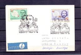 Polska - Spotkanie Polarnikow - Poznan 16/11/1986   (RM7997) - Explorateurs & Célébrités Polaires