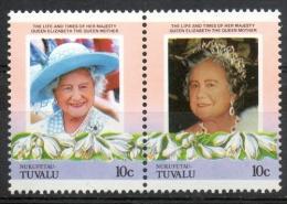 Tuvalu Nukufetau 1985 - Regina Madre Elisabetta Queen Mother Elizabeth MNH ** - Tuvalu