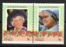 Tuvalu Nukulaelae 1985 - Regina Madre Elisabetta Queen Mother Elizabeth MNH ** - Tuvalu