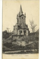 Carte Postale Ancienne Pontavert - L'Eglise - France