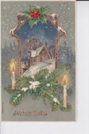 LA MAISON DU BONHEUR (PAPIER GLACE) - Kerstmis