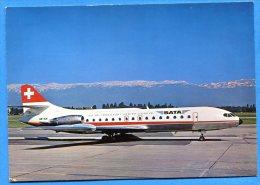 AVR053, Super-Caravelle 10R, SATA Genève, HB-ICN, Suisse, Schweiz, GF, Non Circulée - 1946-....: Moderne