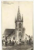 Carte Postale Ancienne Sissonne - L'Eglise - Sissonne