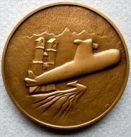Médaille En Bronze Commémorative TECHNICATOME/ 1964-1989 - Militair