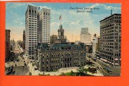 Fort Street, Looking West, Detroit, Mich. - Detroit