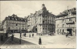 Le Mont Dore Place Michel Bertrand  - Carte Animée. - Le Mont Dore
