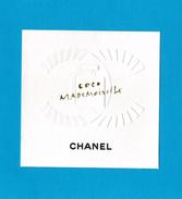 Cartes Parfumées  Carte CHANEL COCO MADEMOISELLE De  Chanel - Cartes Parfumées