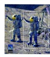 Alan Bean-Espace-année De L´astronomie-Apollo 11-Tristan Da Cunha-Bloc***MNH