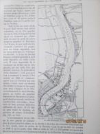 Plan De  La Ville De  BORDEAUX   Projets D Extension Du Port    1940 - Maps