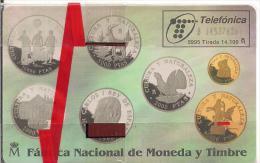 TARJETA MONEDAS CULTURA Y NATURALEZA - Sellos & Monedas