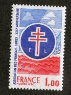 4498  France 1976  Mi.#1969  **  Scott #1484  Offers Welcome! - Nuovi