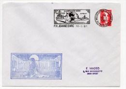 1991 - ENVELOPPE Du PORTE HELICOPTERE JEANNE D'ARC - Lettres & Documents