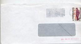 Lettre Flamme Bordeaux Musee Douane - Marcophilie (Lettres)